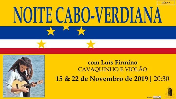Voltam as Noites Cabo-Verdianas à República 14 com Luis Firmino