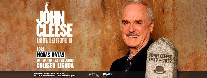Novas Datas: John Cleese // Coliseu de Lisboa