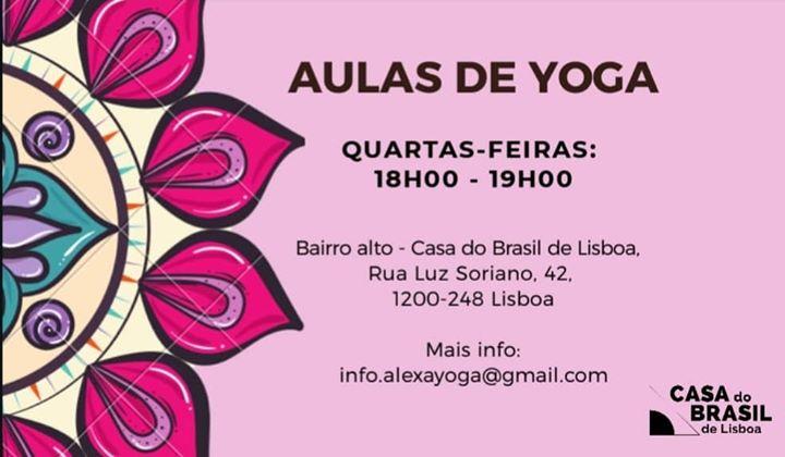 Aulas Regulares de Hatha Yoga - Casa do Brasil de Lisboa