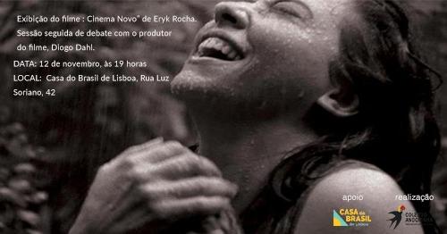 Sessão e debate do filme 'Cinema Novo', de Eryk Rocha