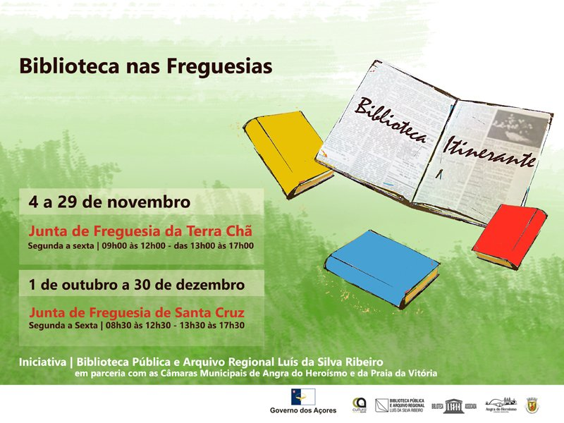 Biblioteca nas Freguesias - Biblioteca Itinerante