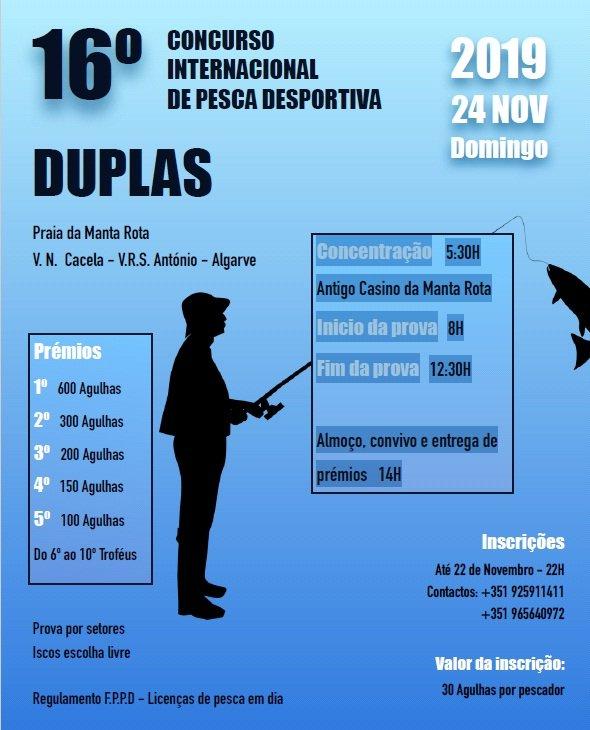 Concurso internacional de pesca desportivo