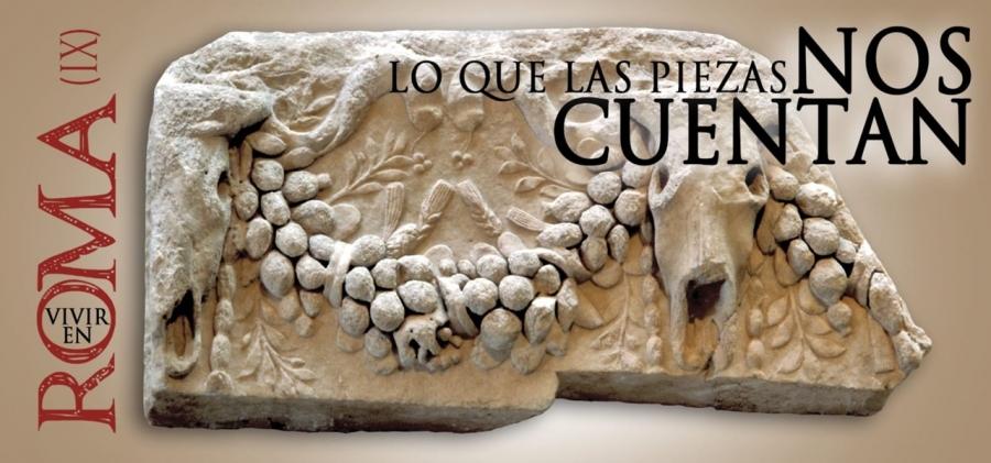 """Ciclo de conferencias Vivir en Roma IX: """"Reflejos de poder, el vidrio de los Convivia"""""""