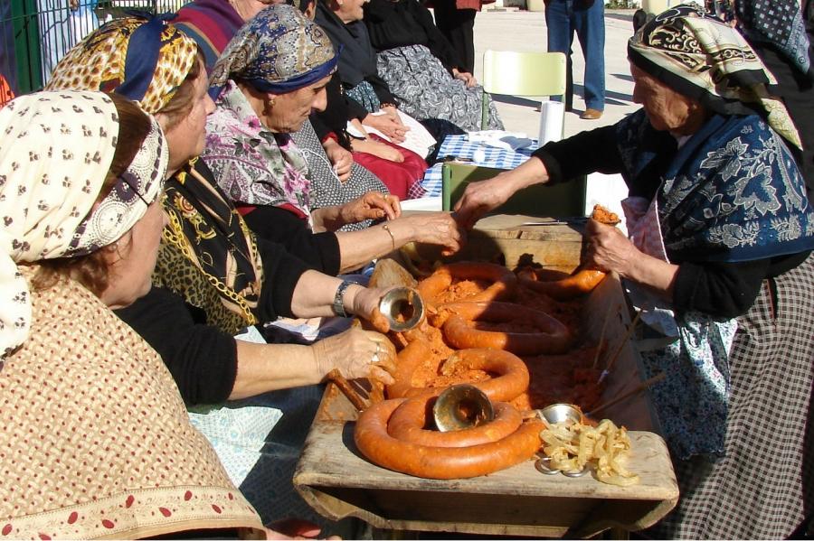 La Pedida de la Patatera, el día grande de Malpartida de Cáceres