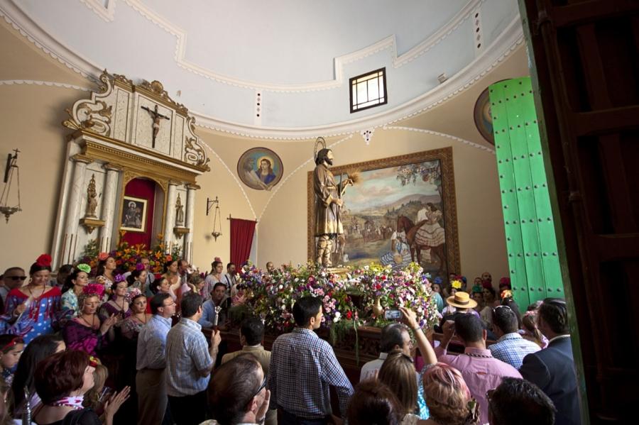 Romería de San Isidro  en Fuente de Cantos