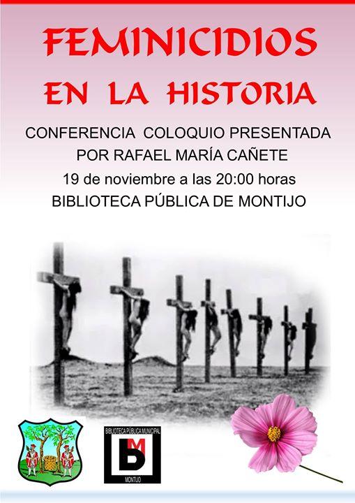 Charla-Coloquio 'Feminicios en la historia'