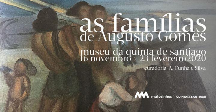 Inauguração da exposição 'As Famílias de Augusto Gomes'