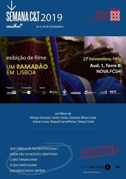 Exibição do filme Um Ramadão em Lisboa