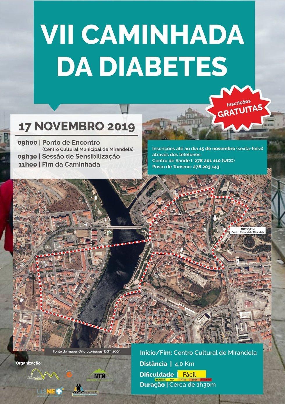 VII Caminhada da Diabetes