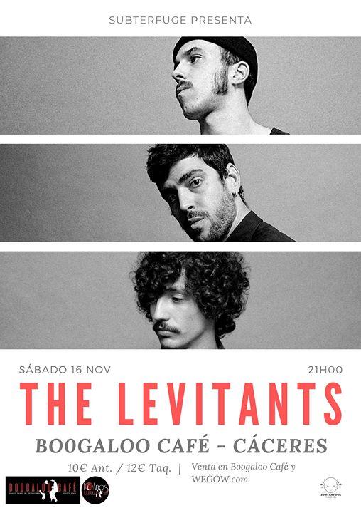 The Levitants concierto en Boogaloo Cáceres