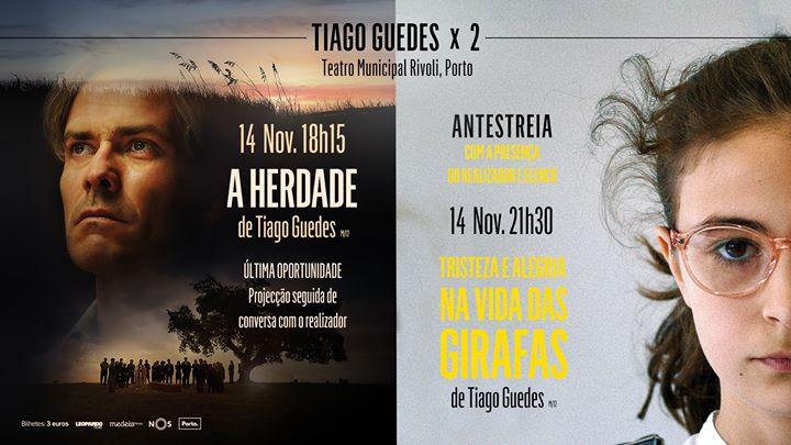 Teatro Rivoli, Porto | Tiago Guedes X 2, com realizador e elenco
