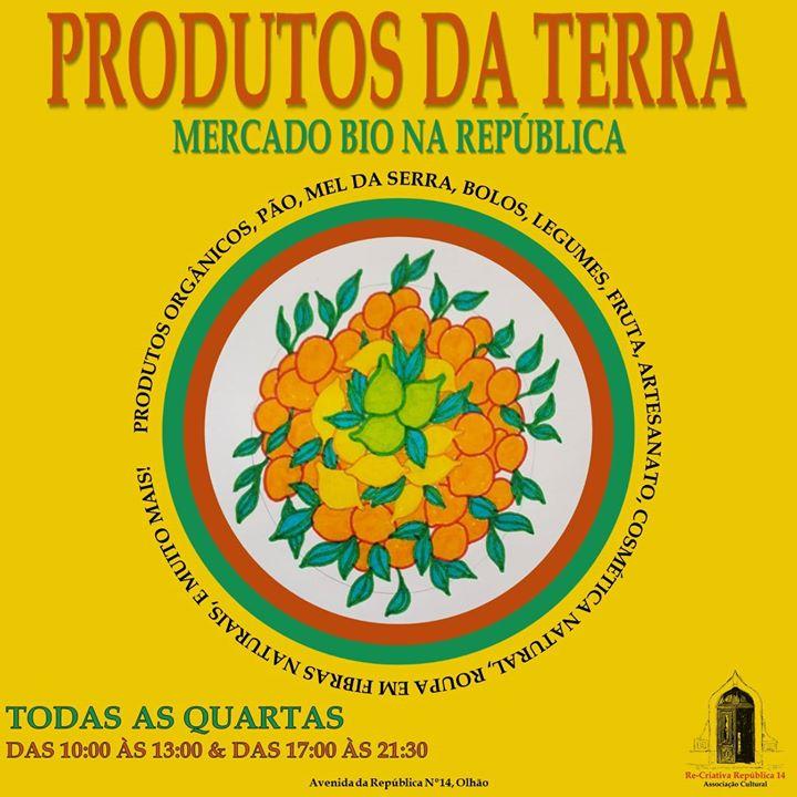 Mercado Bio na República 14 - Quartas das 10h às 15h