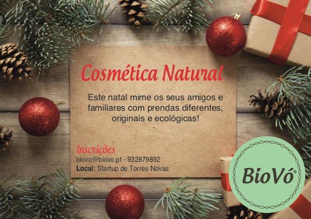 Workshop Cosmética Natural - Especial Natal