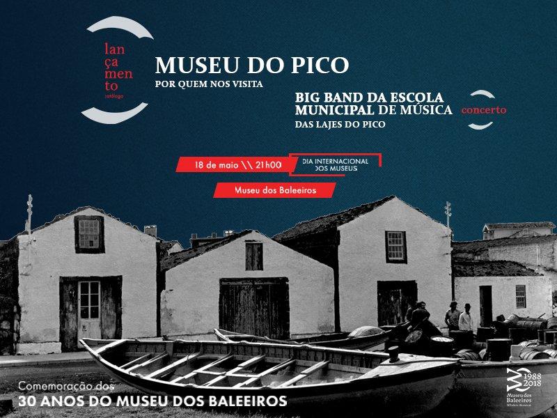 Museu do Pico comemora o Dia Internacional dos Museus com o lançamento do catálogo Museu do Pico - Por Quem Nos Visita