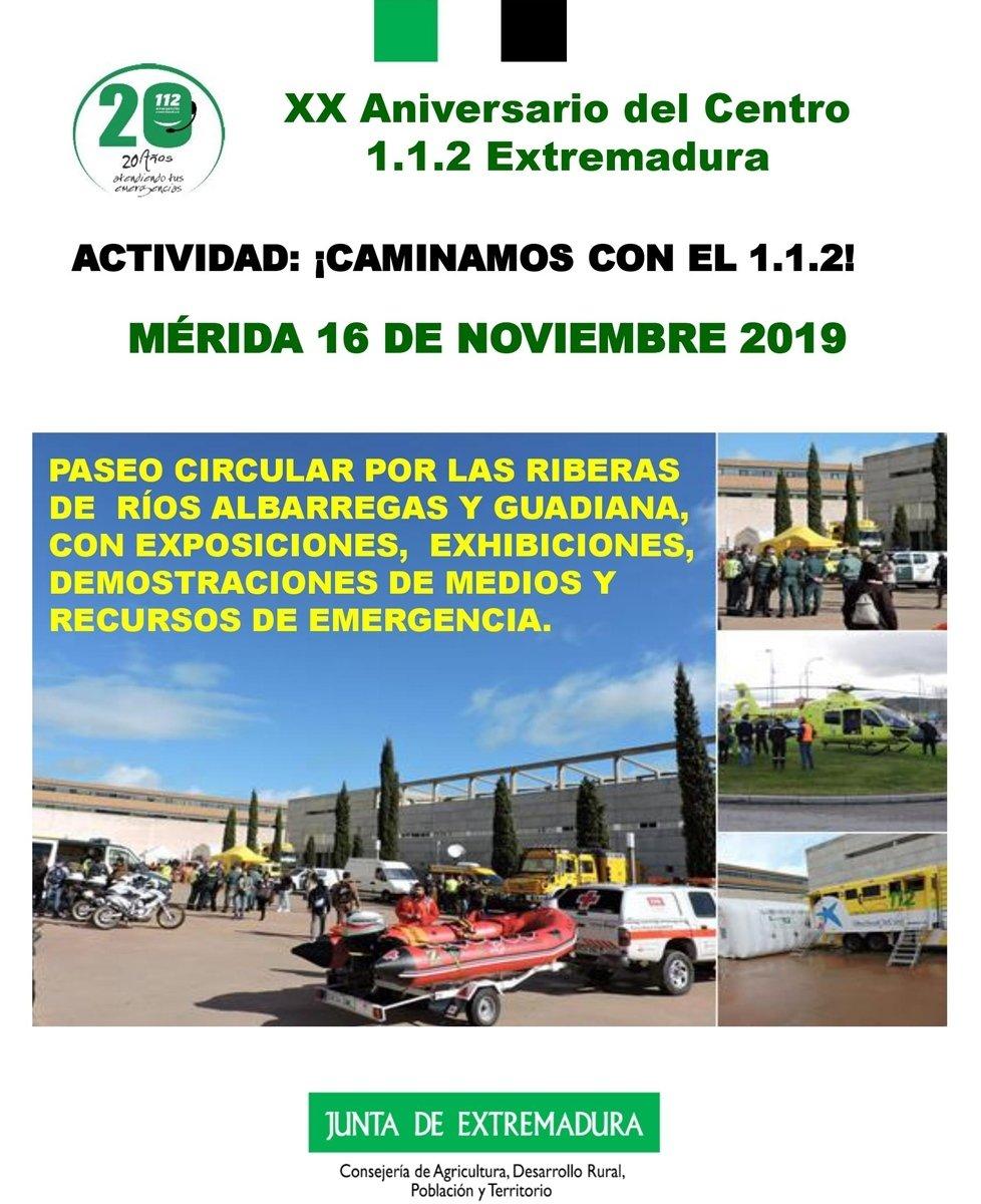 XX aniversario del 1.1.2. Extremadura