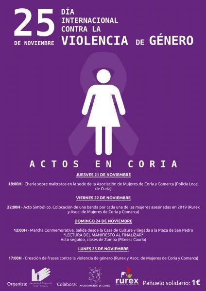 Día Internacional de la Eliminación de la Violencia contra la Mujer 2019