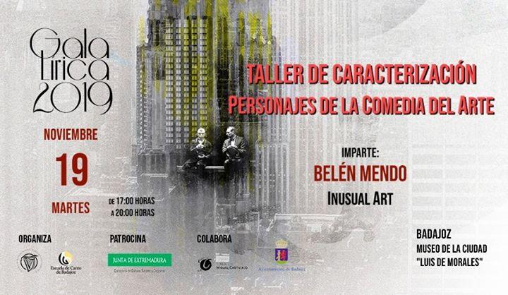 GalaLírica2019. Taller Caracterización (Comedia del Arte) [Badz]