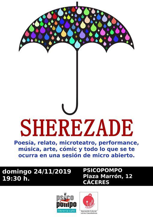Sherezade {micro abierto cultural}