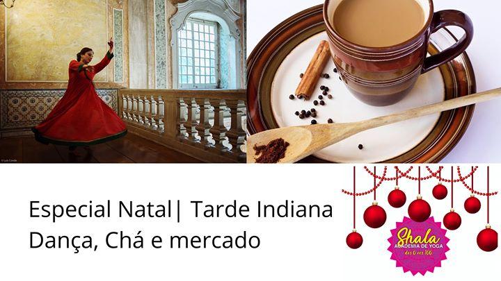 Especial Natal | Workshop de Dança Clássica Indiana e Chá
