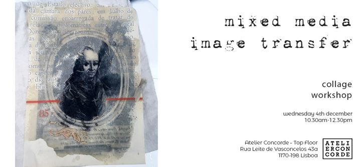 Artist Workshop - Mixed media image transfer