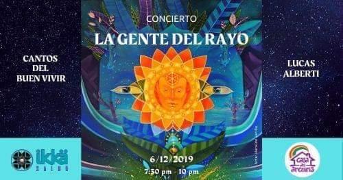 Concierto La Gente Del Rayo