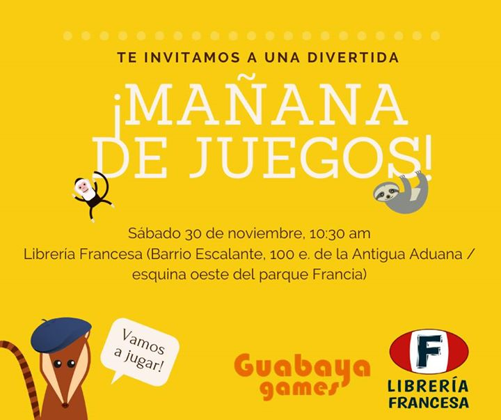 Mañana de Juegos con Guabaya