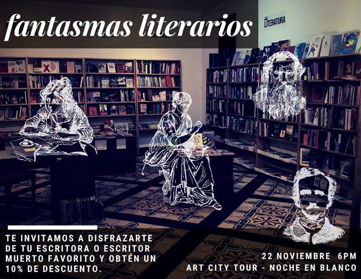 Fantasmas literarios en La Noche en Blanco