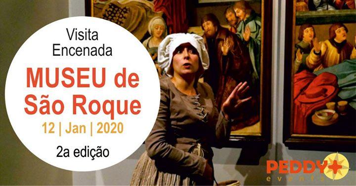 Visita Encenada ao Museu de São Roque (2ª Edição)