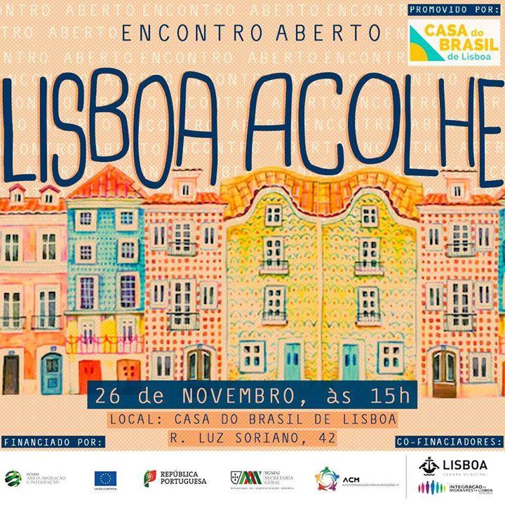 Encontro Aberto - Construção do Portal Lisboa Acolhe
