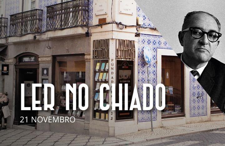 Ler no Chiado | Jorge de Sena