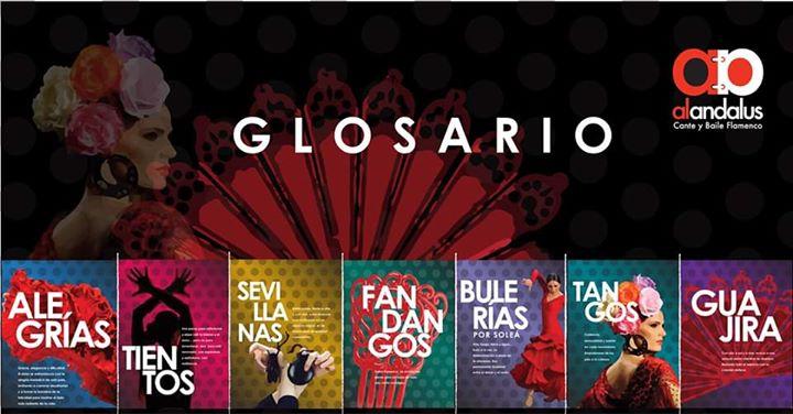 ¨Glosario¨ Espectáculo de Baile Flamenco
