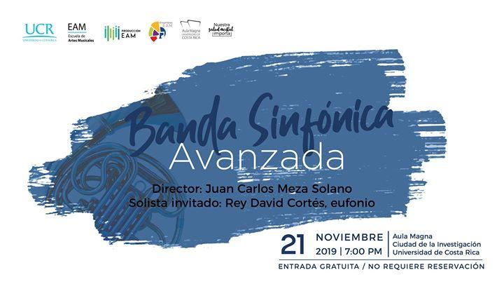 Banda Sinfónica Avanzada en concierto