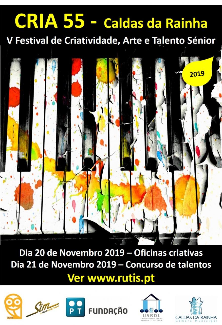 V CRIA55 (Festival de Criatividade, Arte e Talento Sénior)