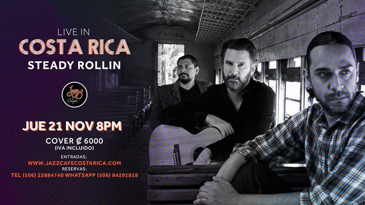 Steady Rollin en Costa Rica   Jazz Café