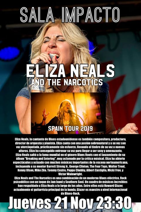 ELIZA NEALS AND THE NARCOTICS desde EEUU