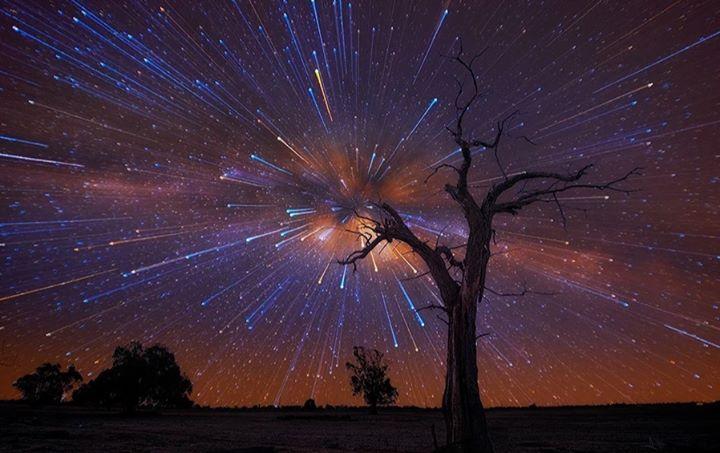 Telescopiada Lluvia de meteoros Las Gemínidas