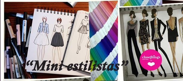 Mini estilistas