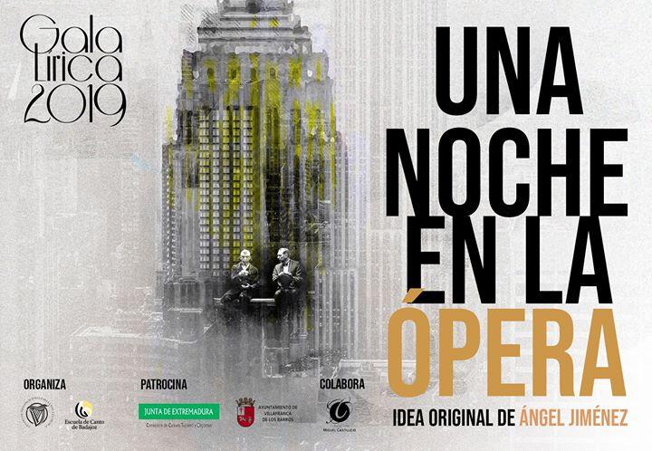 GalaLírica2019. Una Noche en la Ópera. Villafranca de los Barros