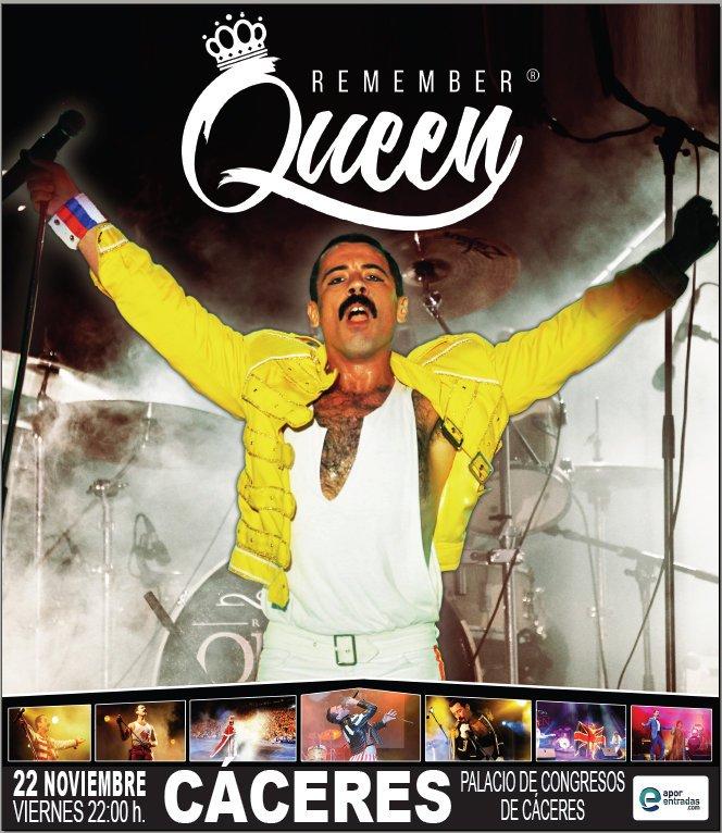 Remember Queen en Cáceres