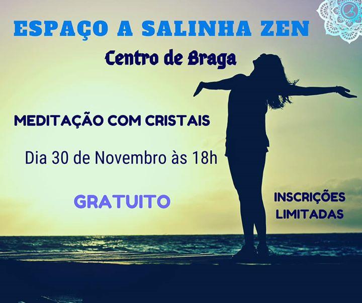 Meditação com Cristais - Braga- Espaço A Salinha