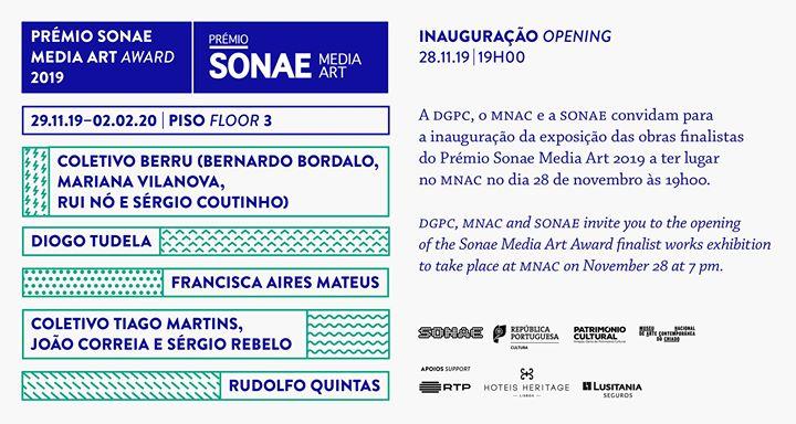 Prémio Sonae Media Art 2019. Exposição das obras finalistas