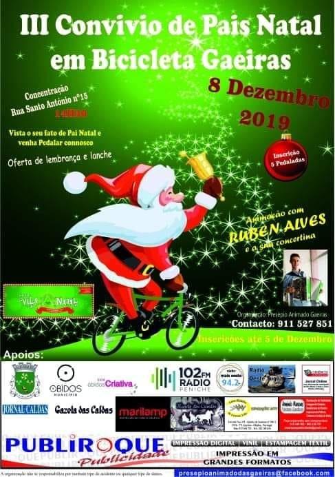 III Encontro de Pais Natal em Bicicleta | Gaeiras