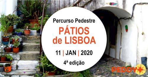 Percurso Pedestre 'Pátios de Lisboa' (4ª Edição)
