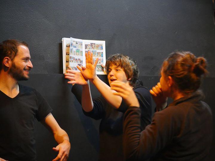Workshop Teatro do Gesto: Banda Desenhada, com Charly Magonza