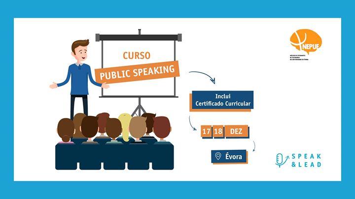 Curso Public Speaking - Évora