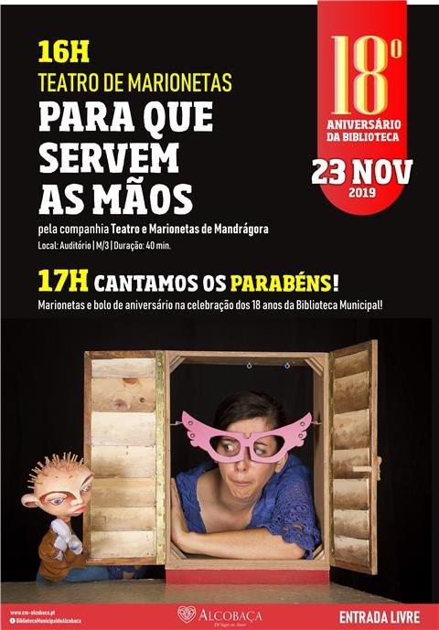 teatro :: Para que Servem as Mãos | 18ª Aniversário da BMA