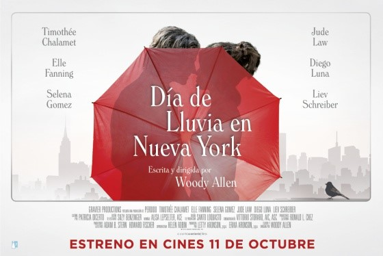 Día de Llúvia en Nueva York, de Woody Allen