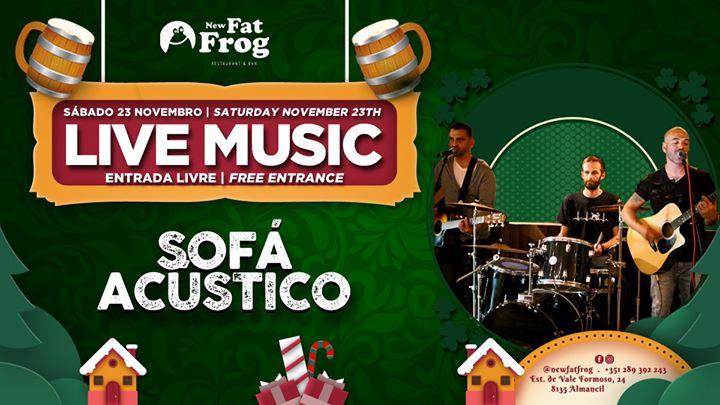 Live Music com Sofá Acústico