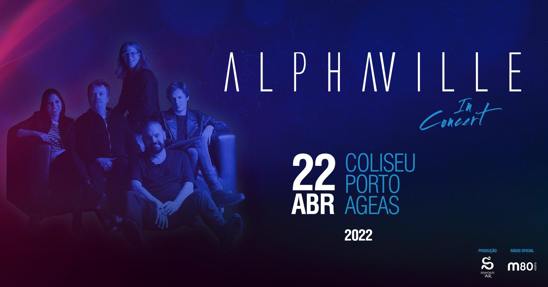 Alphaville | Coliseu do Porto AGEAS