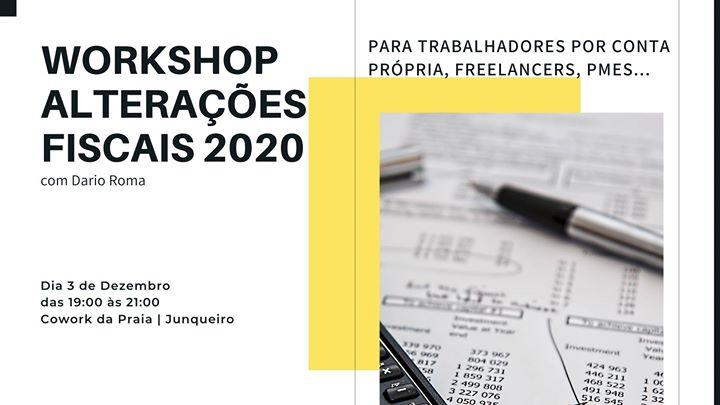 Workshop Alterações Fiscais 2020